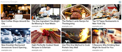 matched content adsense new ad unit blogger