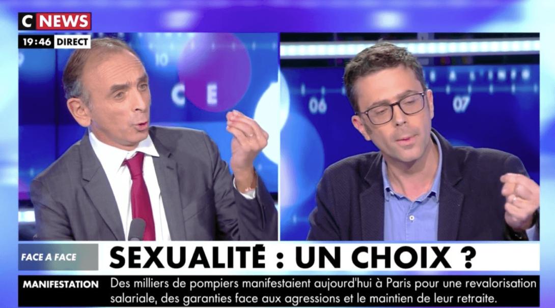 CNews retire son direct à Éric Zemmour