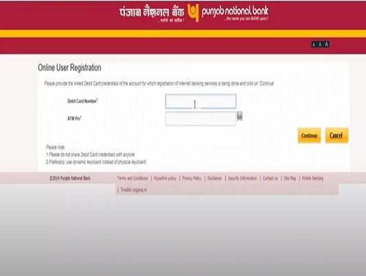 How to activate PNB Net banking Online?