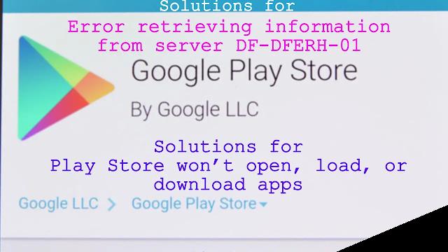 Error retrieving information from server DF-DFERH-01