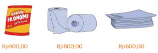 Perhatikan harga barang-barang tersebut www.simplenews.me