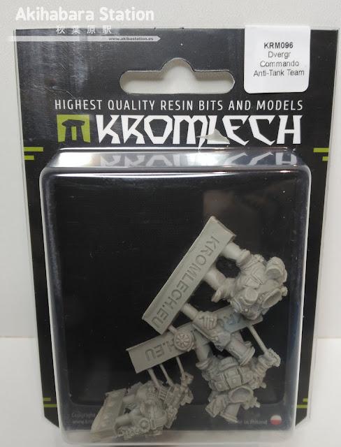 Review de Dvergr Commando Anti-Tank Team - Kromlech