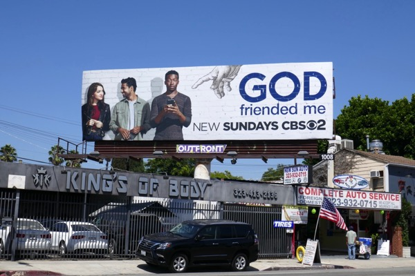 God Friended Me season 1 billboard