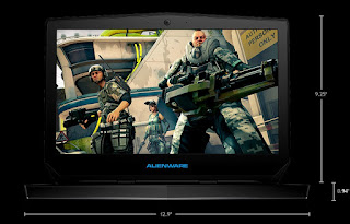 Dell Alienware 13 R2 Dimensions Weight Gaming Notebook