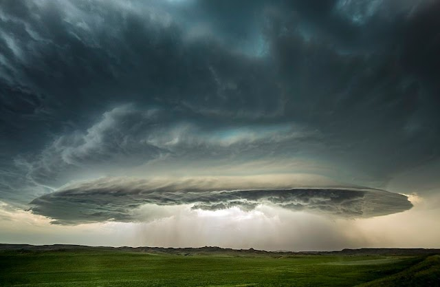 The person spent 40 years hunting tornadoes, super storms