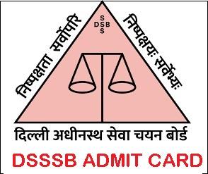 DSSSB Personal Assistant Admit Card 2021 Post Code 17/21