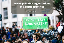 Ocean pollution organizations in various countries