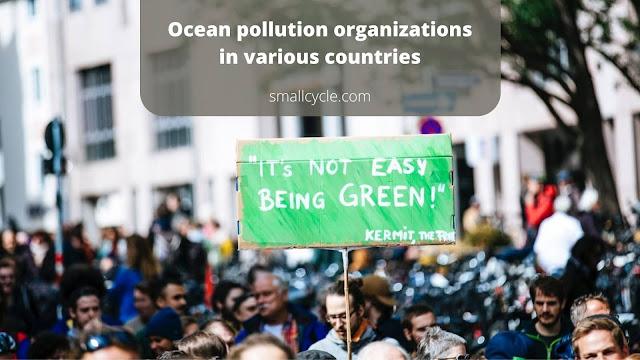 ocean pollution organizations