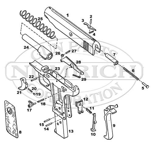 on target shooter nz: ORTGIES 7.65mm Pocket Pistol: