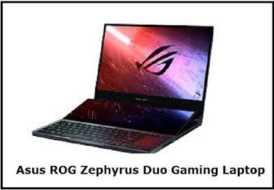 Asus ROG Zephyrus Dual screen Gaming Laptop
