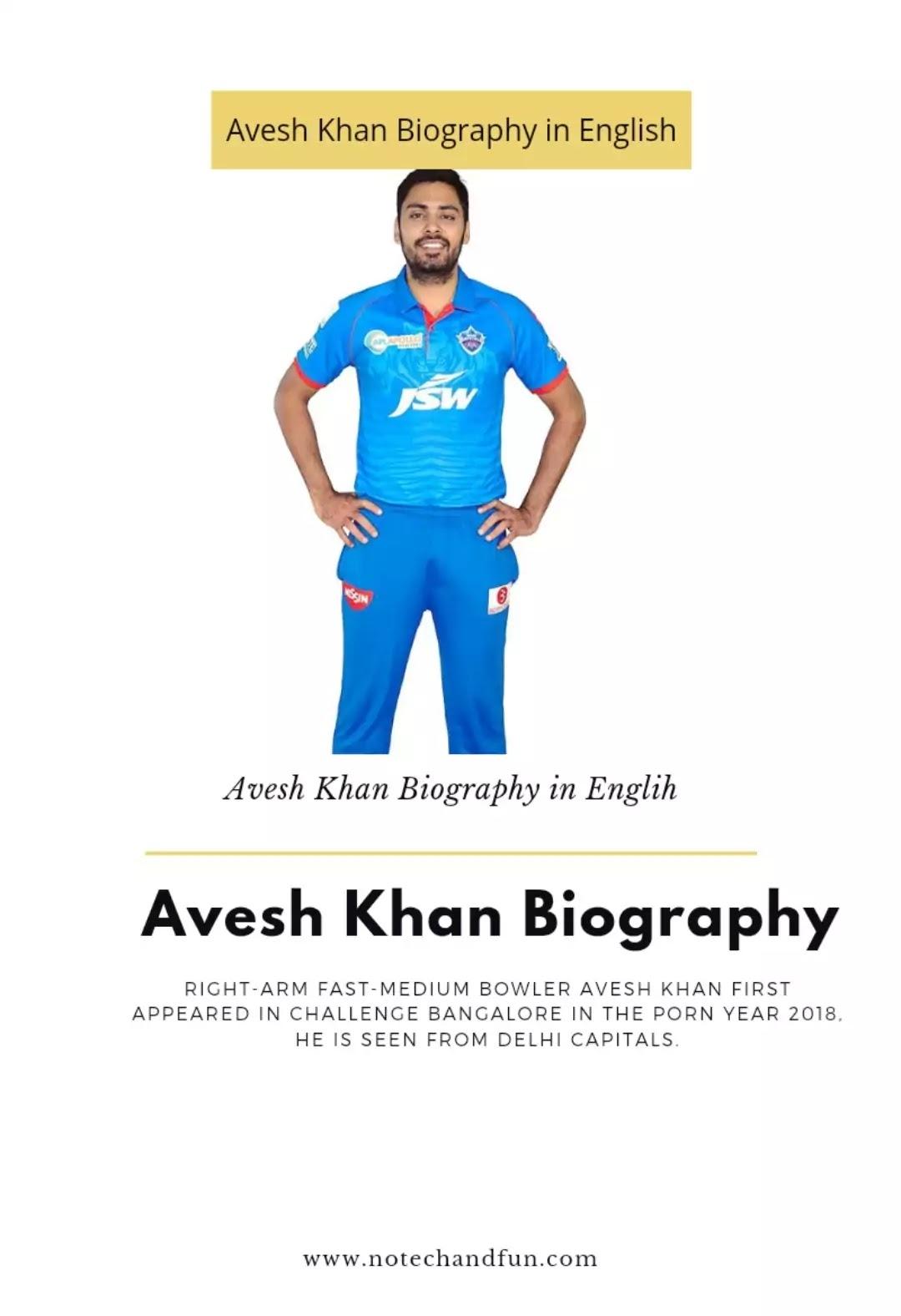 Avesh Khan Biography