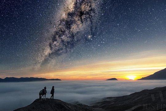 Bromo Milky Way Galaksi Bima Sakti