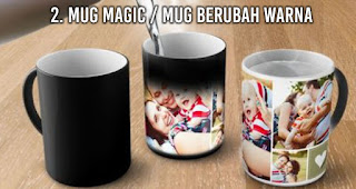 Mug magic / mug berubah warna
