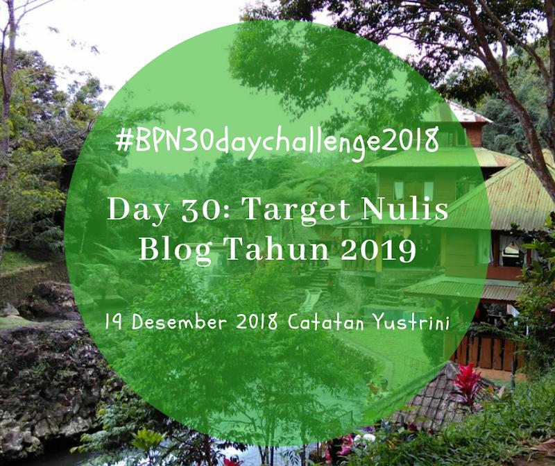 Target Nulis Blog di Tahun 2019