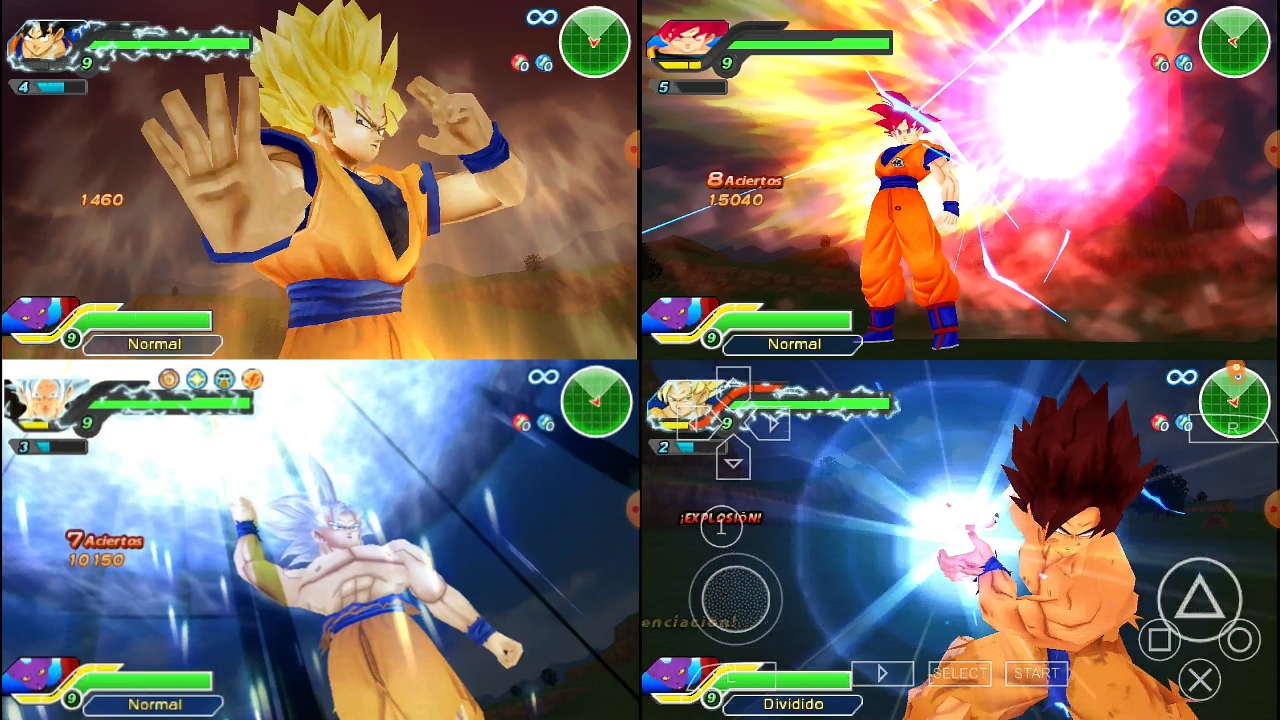 Dragon Ball Z Destruction DBZ TTT MOD Download