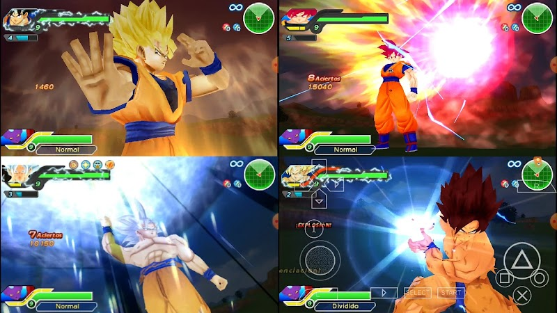 Dragon Ball Z Destruction Tenkaichi Tag Team Mod Android PSP Game