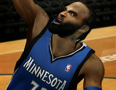 NBA 2K14 Ronny Turiaf Hair & Beard Update