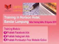 Training in Horison Hotel Bandar Lampung, Buruan Daftar !!