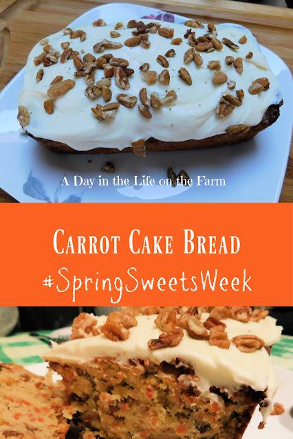 Carrot Cake Bread pin