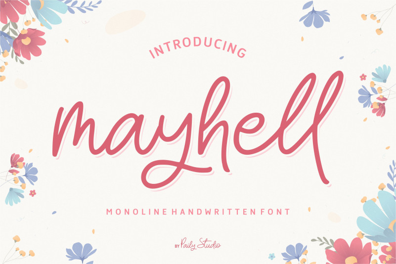 Mayhell Font - Free Script Typeface
