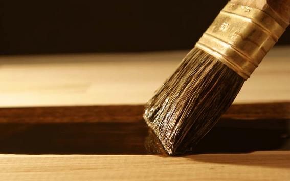 pintar cabecero de madera