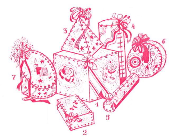 новогодние коробочки своими руками