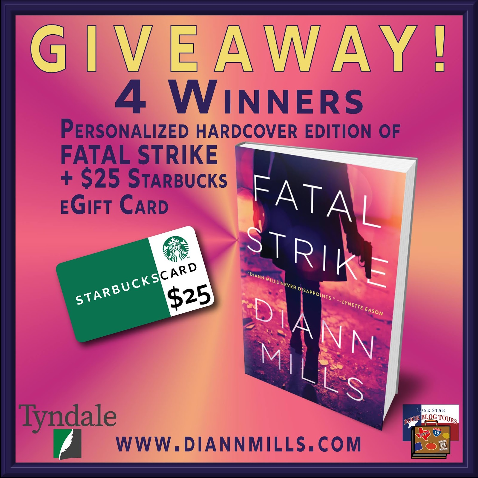 Fatal Strike giveaway graphic