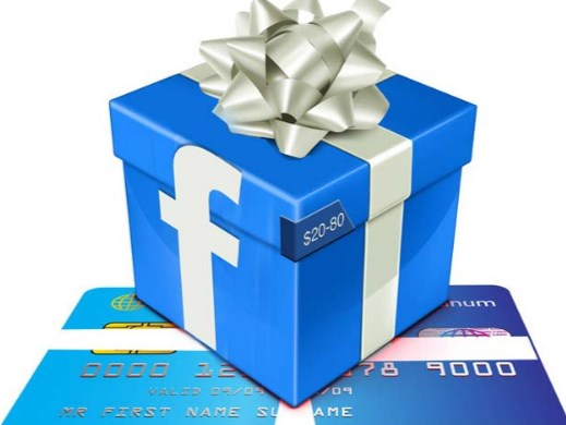 send gift through facebook