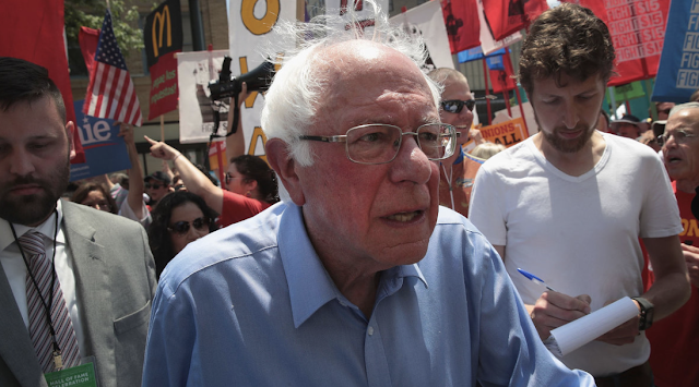 Bernie Sanders falls to third place in state polls as Liz Warren surges to challenge Biden