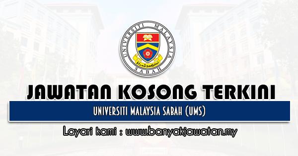 Jawatan Kosong 2021 di Universiti Malaysia Sabah (UMS)