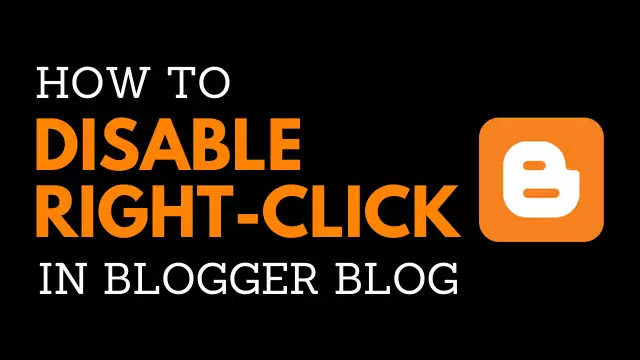 Right Click Disable Script for Blog | how to disable right click on blog