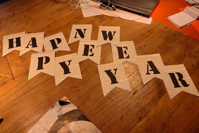 Gelukkig Nieuwjaar Slinger