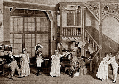 Messager: Les p'tites Michu - Act 3 in the original 1897 production