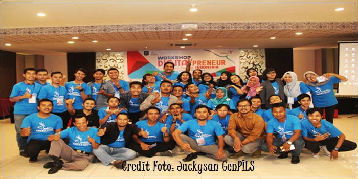 Workshop Digital Preneur GenPI Lombok Sumbawa