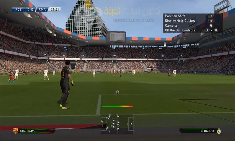 تحميل لعبة بيس 2016 PES للكمبيوتر من ميديا فاير