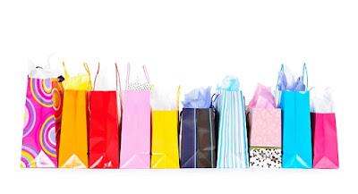 שקיות נייר וקניות