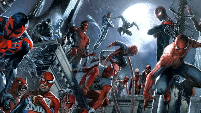 Spiderverse, Ketika Spider-Man dari Multiverse Marvel Tampil dalam Satu Komik