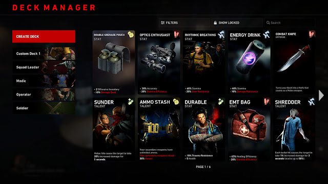 back 4 blood crafting custom card deck b4b pvp multiplayer swarm mode 2021 first-person co-op zombie shooter turtle rock studios warner bros interactive entertainment pc steam ps4 ps5 xb1 xsx
