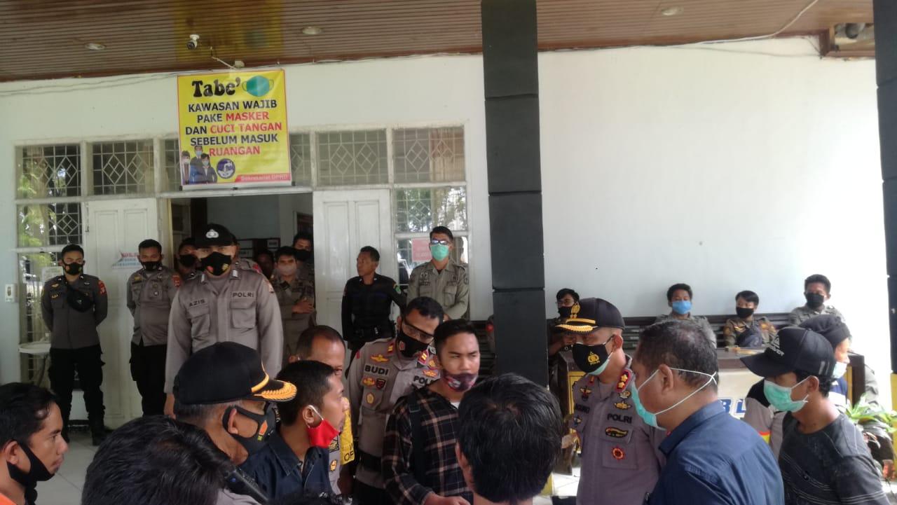 Gelar Aksi, Ini Tuntutan Forum Masyarakat Korban Banjir Bandang Luwu Utara