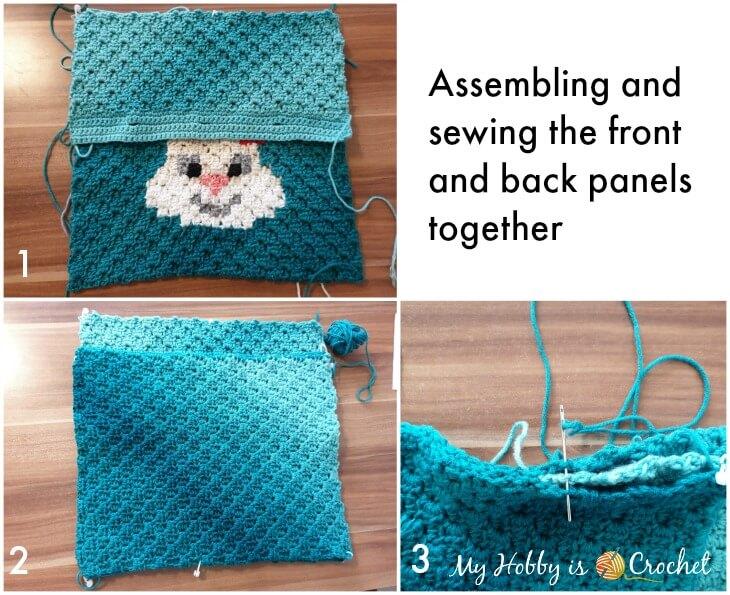 Removable C2C Bunny Pillow Case