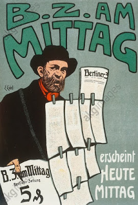 Journal berlinois BA am Mittag vers 1925