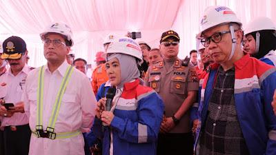 Menteri Perhubungan dan Dirut Pertamina Tinjau Pembangunan Mega Proyek Kilang Tuban