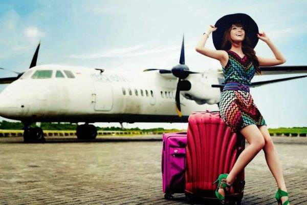 uçak ve tatil
