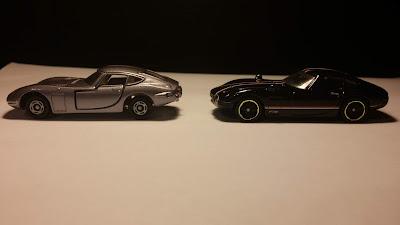 Hot Wheels và Tomica