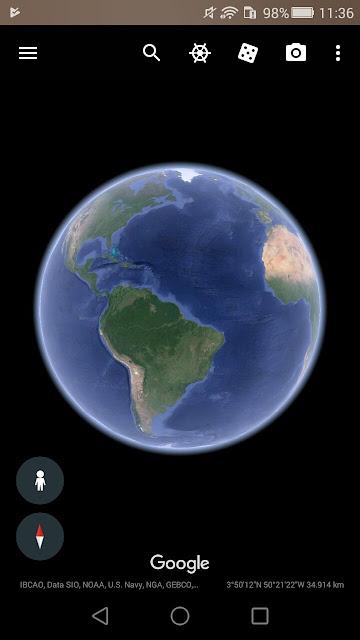 يمكنك الان مشاهدة النجوم بوضوح من خلال هذه الاضافة في Google Earth