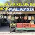Puding Buah, Lokan Bakar dan Air Kelapa Bakar Di Salut Sepanggar Sabah