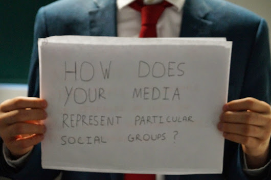 2)How does your media product represent particular social groups