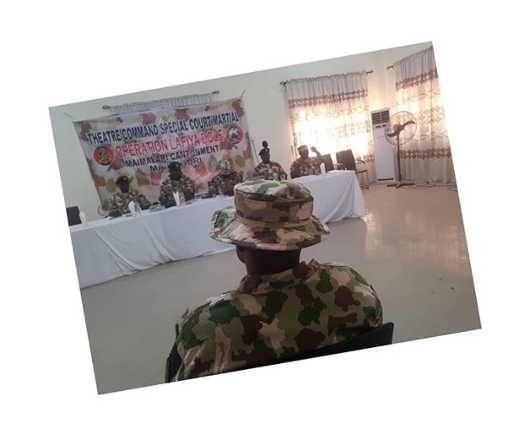 Soldier sacked for defiling a 14-year-old IDP