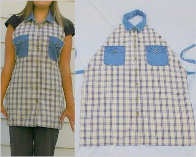 Resultado de imagen para como reciclar una camisa de hombre