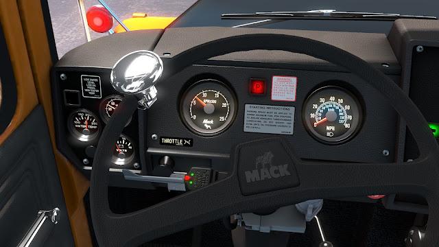 ats mack r series truck mod screenshots 3